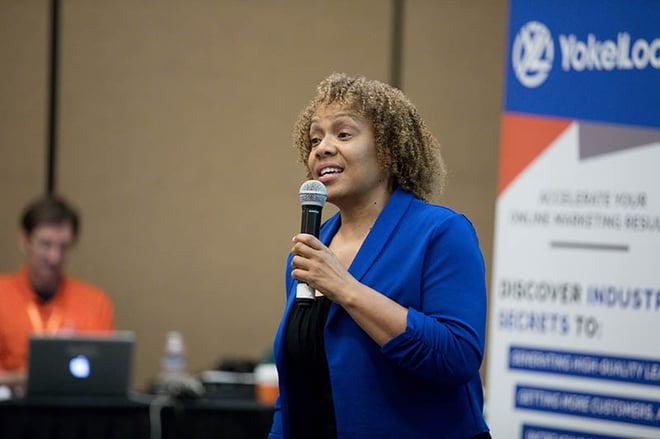 get more customers academy testimonial speaker De 'Borah Fortune Stott
