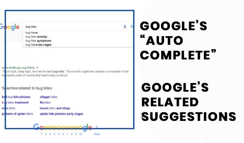 using google to generate blog ideas