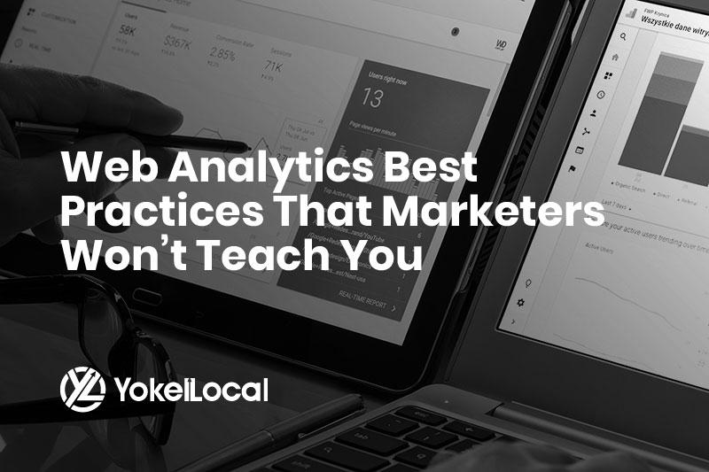 Web Analytics Best Practices